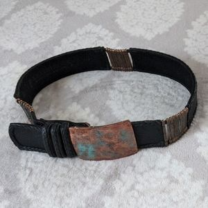 Leatherock belt.